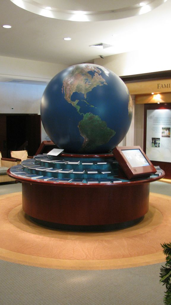 Book of Mormon display, Hawaii Temple Visitors Center