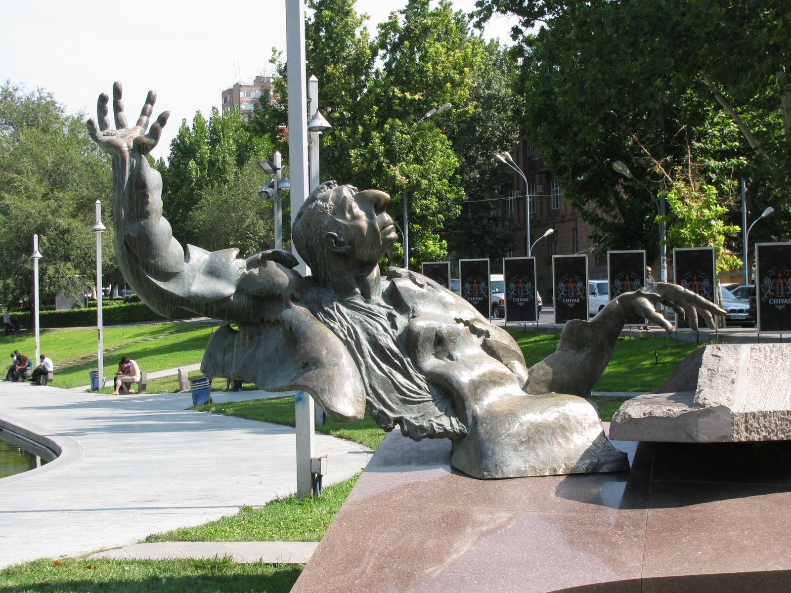 Statue in Yerevan, Armenia