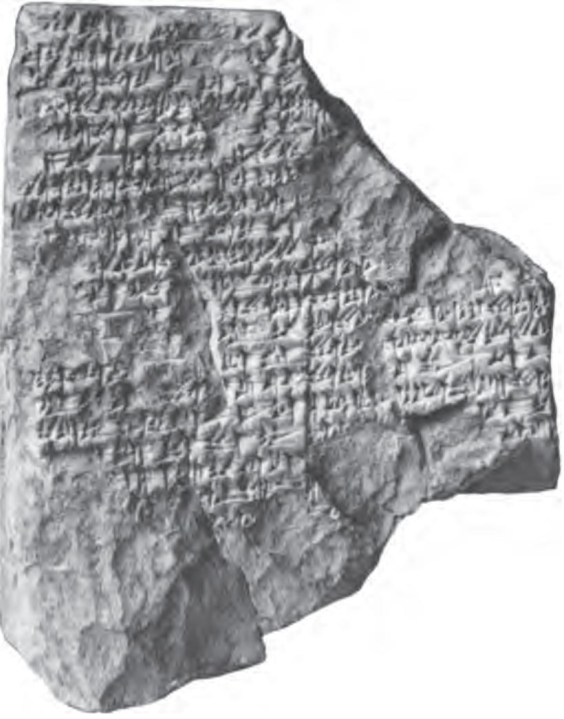 The Deluge story on cuneiform tablets