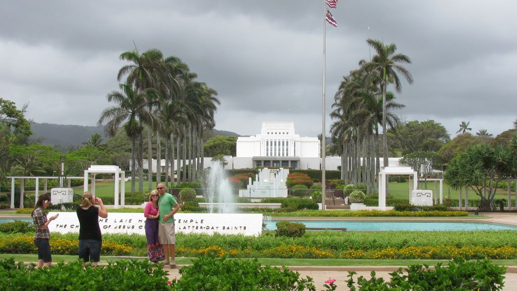 LDS Temple, Oahu, Hawaii