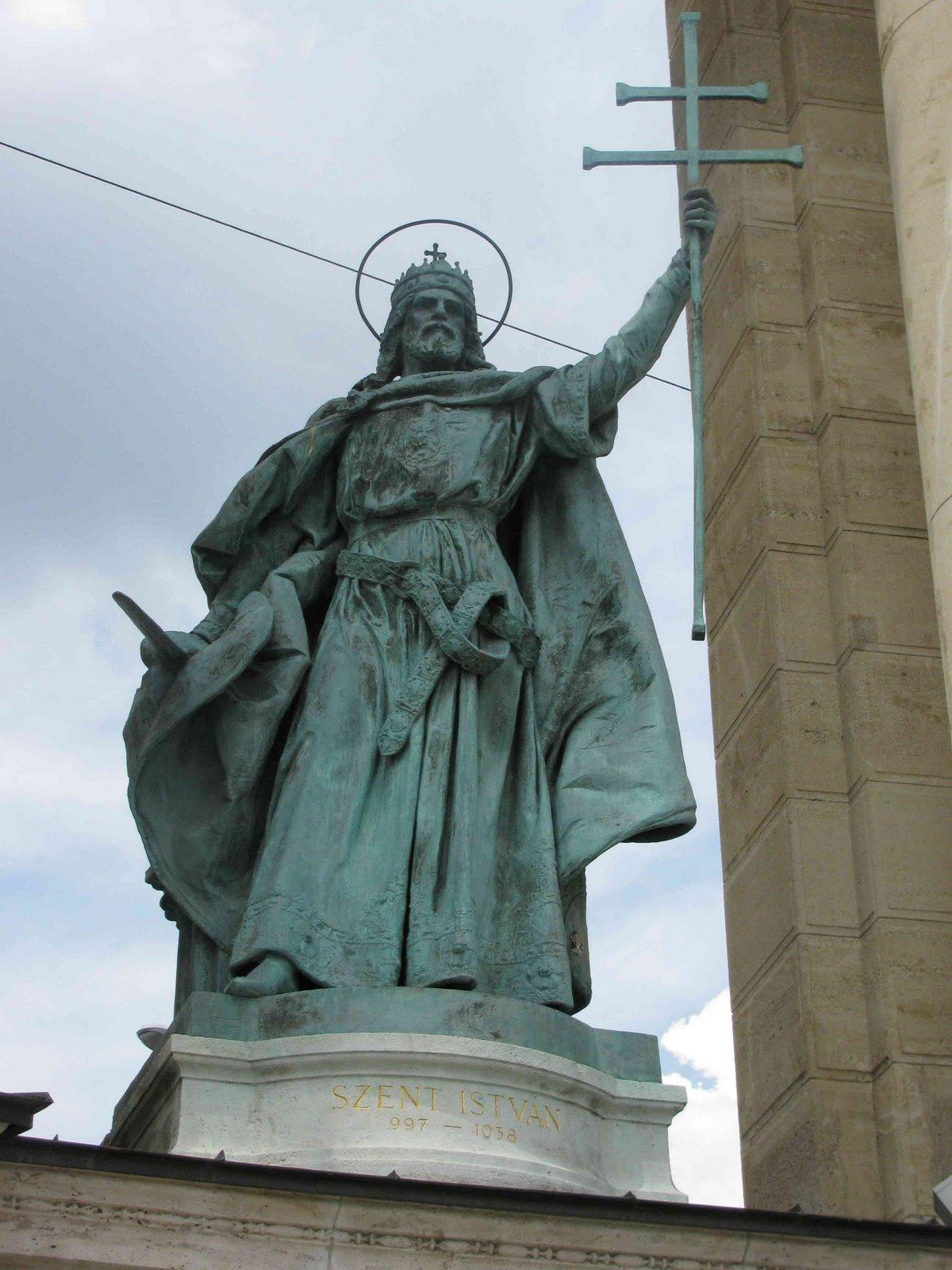 Saint Istvan (Stephen), Hosokter, Budapest, Hungary